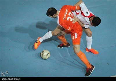 دیدار تیمهای فوتسال مس سونگون و گیتی پسند اصفهان
