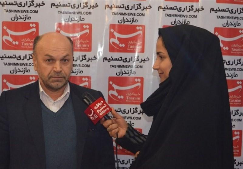 محمد اسماعیل ابراهیم زاده مدیرعامل گاز مازندران