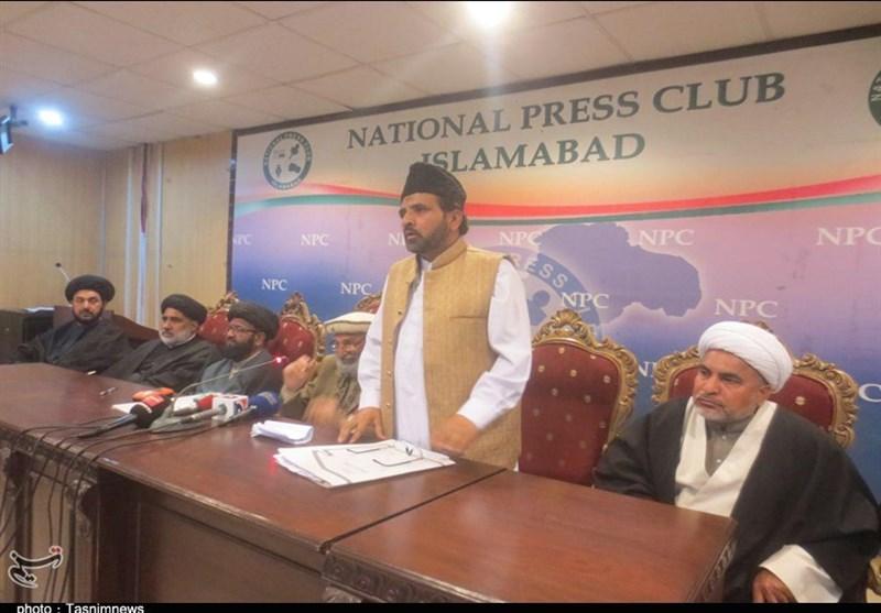 تحریک نفاذ فقہ جعفریہ کو وزیر داخلہ کے قریبی حواریوں کی جانب سے مسلسل دھمکیوں کا سامنا ہے، پریس کانفرنس