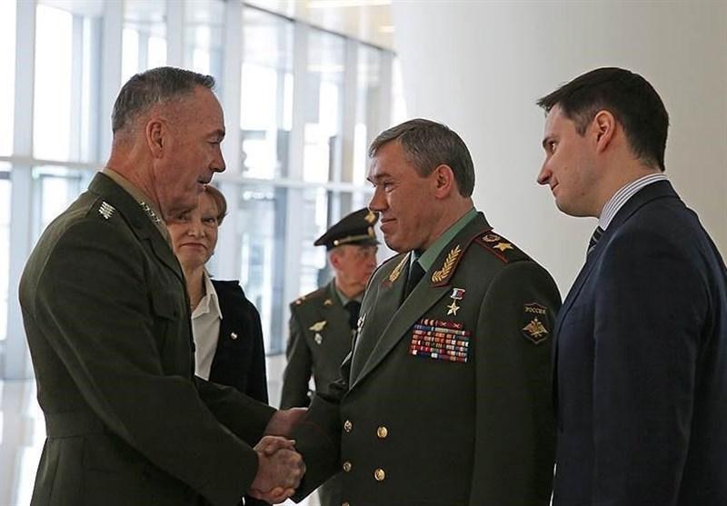 نخستین دیدار مقامات نظامی روسیه و آمریکا پس از 3 سال