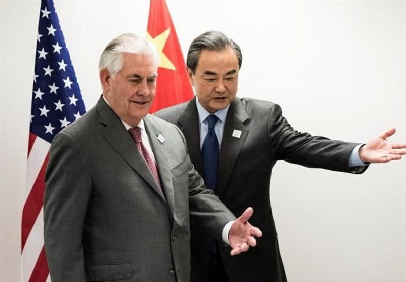 Chinese Foreign Minister Meets US Secretary of State in Germany
