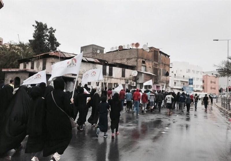 تظاهرات مردم بحرین به مناسبت سالروز پنجشنبه خونین+ تصاویر