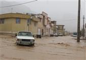 بیمارستان استهبان در خطر ورود سیلاب/ 31 خانه تخریب شد