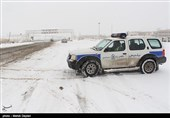 طرح مشترک زمستانی پلیس راه از امروز در جادههای اردبیل آغاز شد