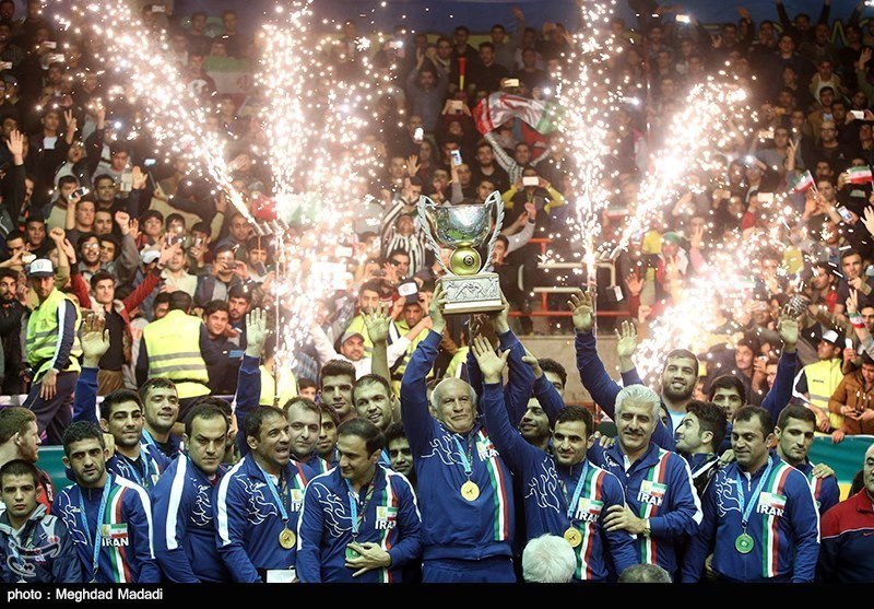 قهرمانی ایران در رقابت های جام جهانی کشتی آزاد