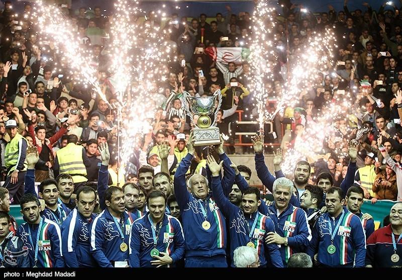 İran Dünya Serbest Güreş Kupası'nın Şampiyonu Oldu