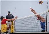 سومین روز مسابقات بین المللی والیبال ساحلی - کیش