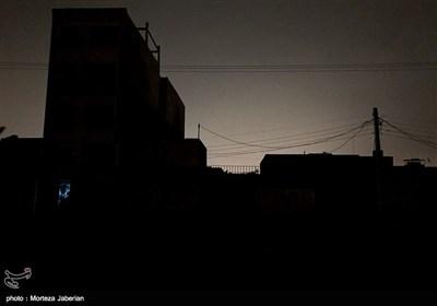 ادامه قطع برق و تاریکی در اهواز
