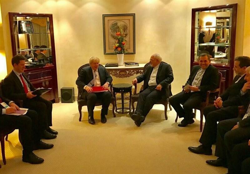 دیدار ظریف با موگرینی و 5 وزیر خارجه در حاشیه کنفرانس امنیتی مونیخ+تصاویر