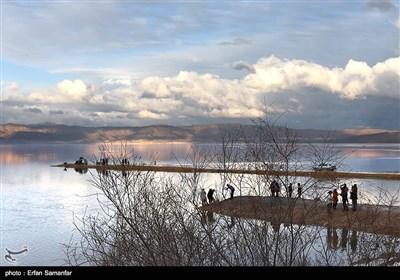 دریاچه مهارلو جان دوباره گرفت