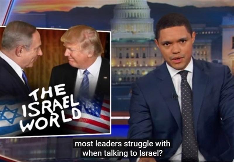 لحن ترامپ مقابل نتانیاهو، سوژه تمسخر کمدین مشهور آمریکایی