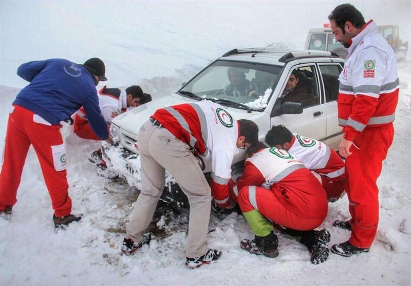 امدادرسانی به یکهزار و 200 حادثهدیده در برف و کولاک در گلستان