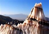 گنبد نمکی جاشک زیباترین کوه نمک خاورمیانه در استان بوشهر+تصاویر و فیلم