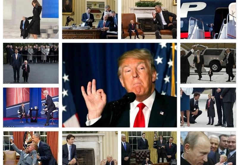 تصاویر/شوخی با ترامپ در فضای مجازی
