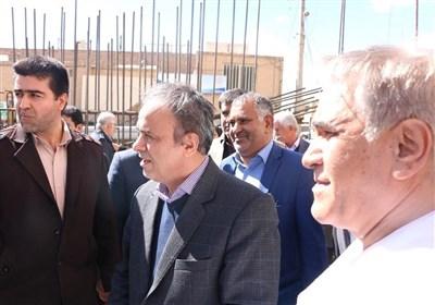 استاندار کرمان از طرح توسعه بیمارستان مهرگان کرمان بازدید کرد