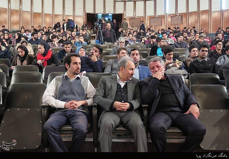 مراسم چهلم آیتالله هاشمی در دانشگاه تهران برگزار شد