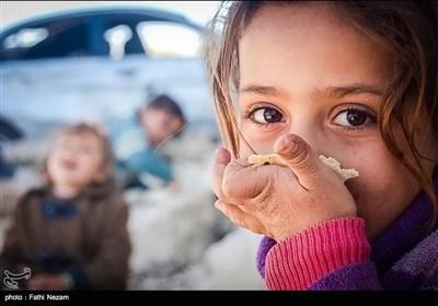 گرسنگی مردم در فوعه و کفریا