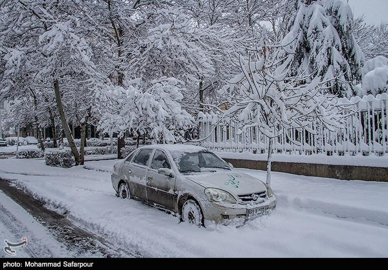 برف و سرما سراسر استان سمنان را فرا گرفت/ آمادهباش نیروهای امدادی برای کمک به مسافران