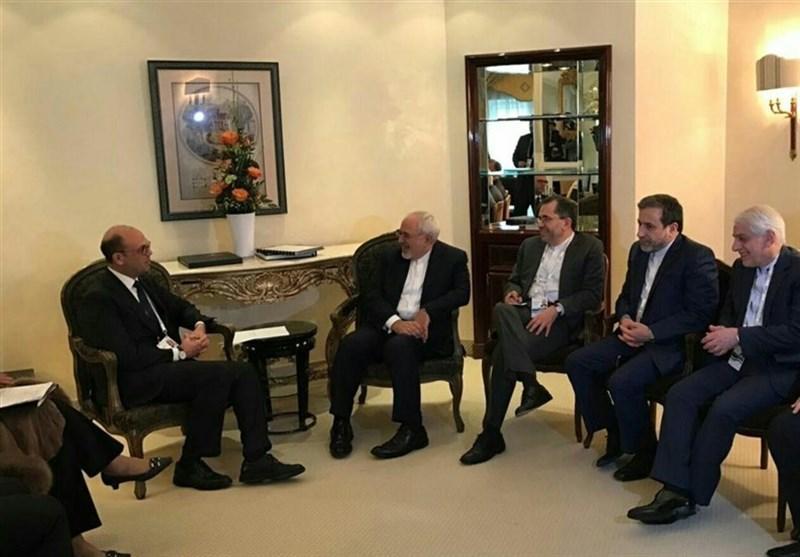 ظریف یلتقی وزیر الخارجیة الإیطالی ووزیری دفاع لبنان وسنغافورة فی میونیخ