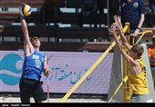 اختتامیه مسابقات بین المللی والیبال ساحلی - کیش