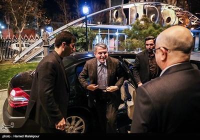 ورود سیدرضا صالحی امیری وزیر فرهنگ و ارشاد اسلامی به مراسم اختتامیه نهمین جشنواره بینالمللی هنرهای تجسمی فجر