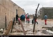 سیلاب در شیارز و تخریب منازل مسکونی