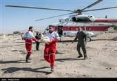 امدادرسانی هوایی به سیل زدگان استان فارس