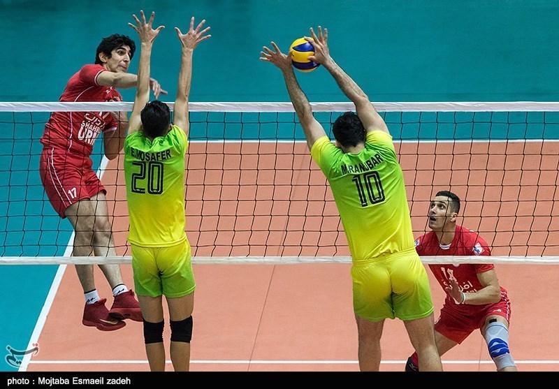 تیم والیبال سپهر الکتریک قزوین به لیگ برتر صعود کرد