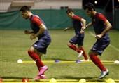 فوتبال هدفمند یک ضرب و دو ضرب در دستور کار بازیکنان/ مدافعان زیر نظر برانکو تمرین کردند