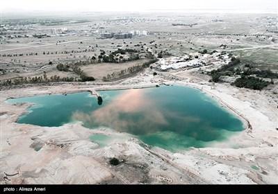دشت لامرد پس از سیلاب روزهای گذشته