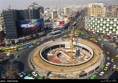 بازگشایی میدان ولیعصر(عج)
