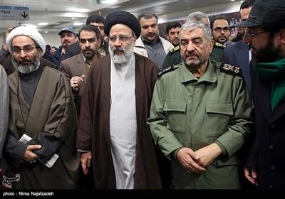 آیین بهره برداری خط دو قطار شهری مشهد