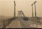 ریزگردها گردوخاک در اهواز خوزستان