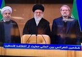 ادای احترام امام خامنهای به یادمان شهدای انتفاضه فلسطین