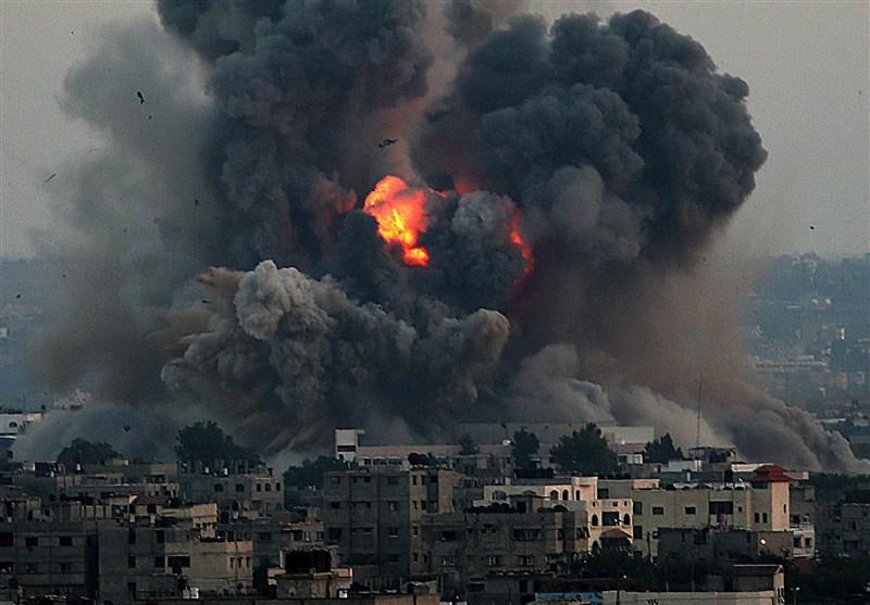 شمالی غزہ پٹی پر اسرائیلی حملے