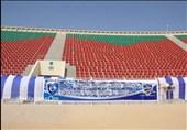 نصب پرچمهای حریف عربستانی پرسپولیس در ورزشگاه و خرید 5 هزار بلیت + عکس
