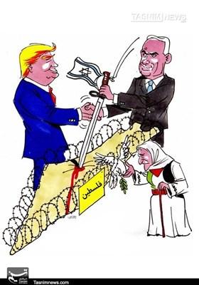 کاریکاتور/ مقاومت ، تنها رمز پیروزی فلسطین
