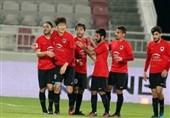 پیروزی حریف قطری پرسپولیس برابر الوحده امارات