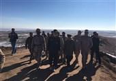 حضور سرلشکر رشید در منطقه عمومی رزمایش سپاه