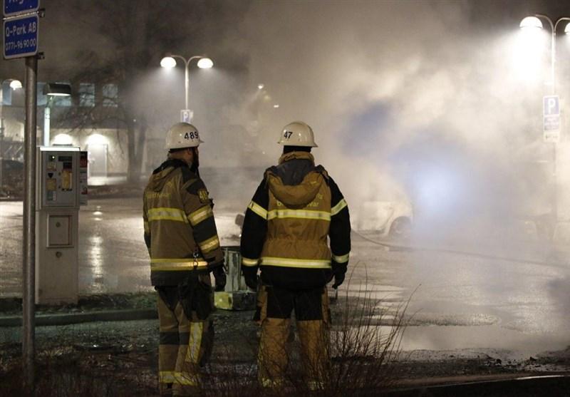 آتشسوزی در مرکز پناهجویان سوئد