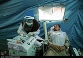 افتتاح بیمارستان صحرایی سپاه در شهرستان سرباز