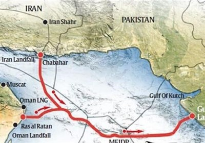 خط گازی ایران عمان هند