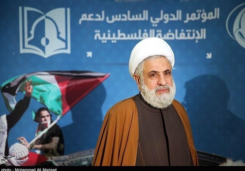 Naim Kasım: İsrail Sadece Silahla Devrilebilir/ İran Bir Kez Daha Arapları Ve Müslümanları Filistin Meselesi Etrafında Toplamıştır