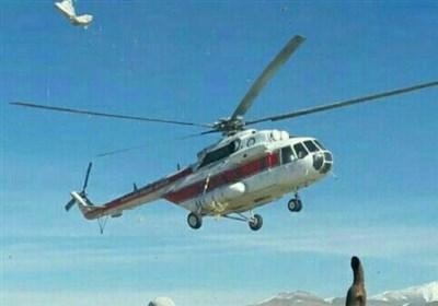 بالگرد اورژانس هوایی لرستان برای نجات جان مادر باردار الیگودرزی اعزام شد+ تصاویر
