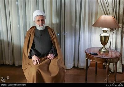 دلیل دشمنی آمریکا با ایران از نگاه شیخ نعیم قاسم