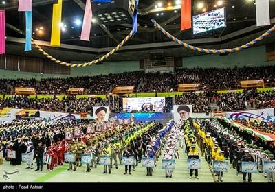 مراسم اختتامیه المپیاد و پارالمپیاد ورزشی محلات شهر تهران