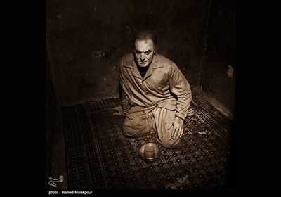 سلول شهید محمدمهدی حاج ابراهیم عراقی در موزه عبرت