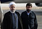 ایرانی صدر کا پاکستان میں 21 توپوں کی سلامی سے استقبال