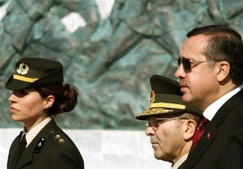 بانوان ارتش ترکیه