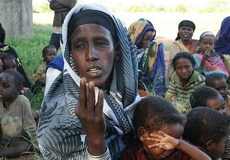 قحطی در آفریقا